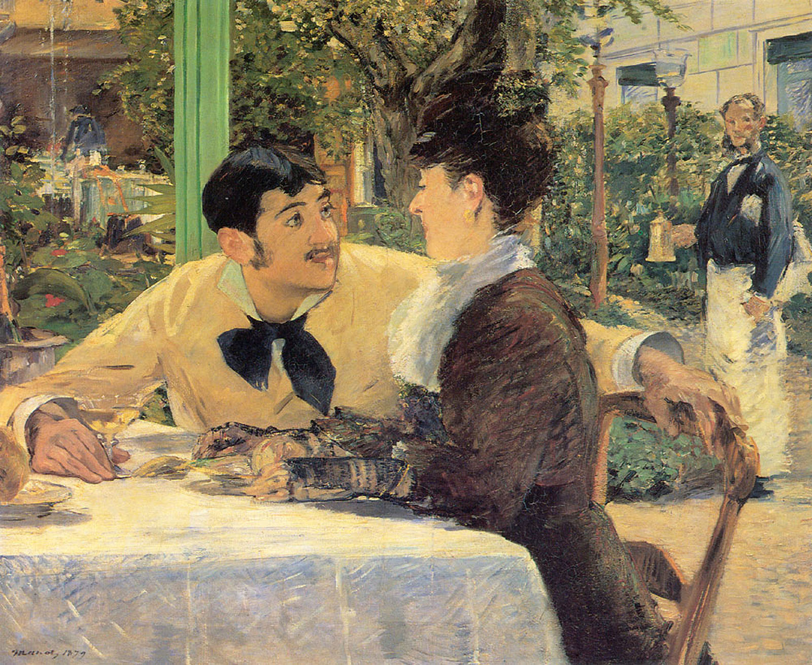 Image result for manet couple