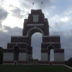 A windy autumn evening at Thiepval