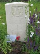 Alfred Ridge - Harlebeke New British Cemetery