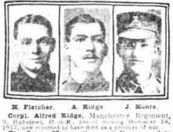 © THE BRITISH LIBRARY BOARD. ALL RIGHTS RESERVED MEN 30/5/1918 Alfred Ridge