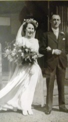 Edward Barnett and his daughter Eveline. Courtesy her grandson Ally Goodman