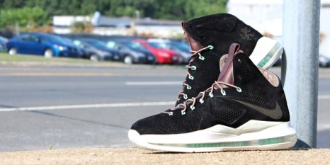 Nike Lebron X Ext QS Black Suede_01