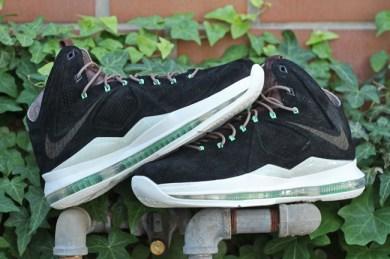 Nike Lebron X Ext QS Black Suede_14