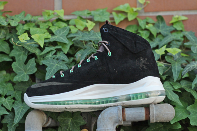 Nike Lebron X Ext QS Black Suede_15