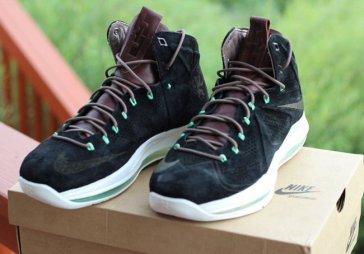 Nike Lebron X Ext QS Black Suede_16