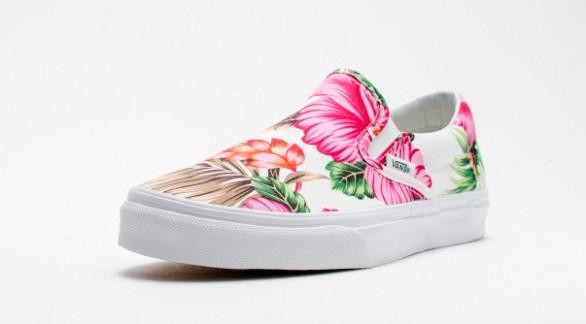 Vans Slip-On Hawaiian Floral White_08