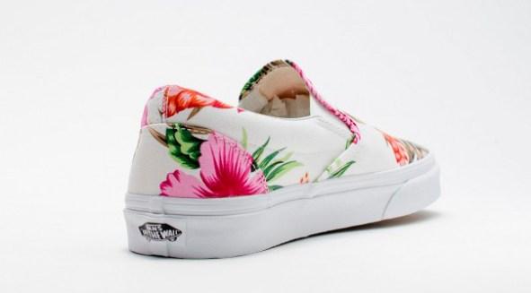 Vans Slip-On Hawaiian Floral White_09
