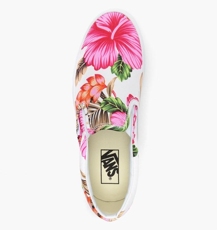 Vans Slip-On Hawaiian Floral White_13
