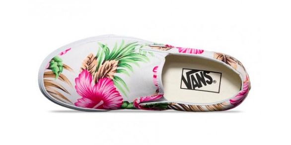 Vans Slip-On Hawaiian Floral White_21