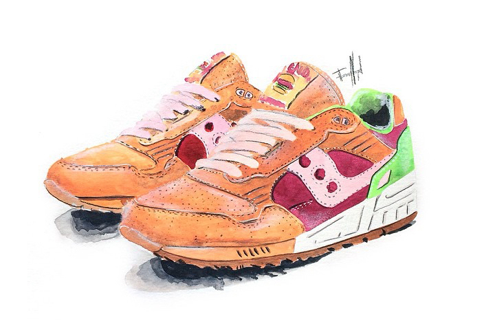 Saucony Shadow 5000 Burger x END_115