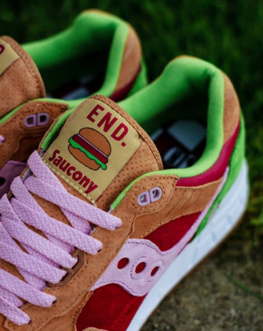 Saucony Shadow 5000 Burger x END_123