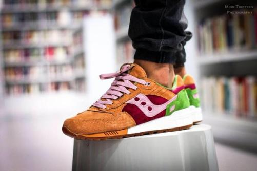 Saucony Shadow 5000 Burger x END_156