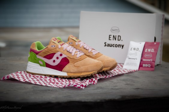Saucony Shadow 5000 Burger x END_78