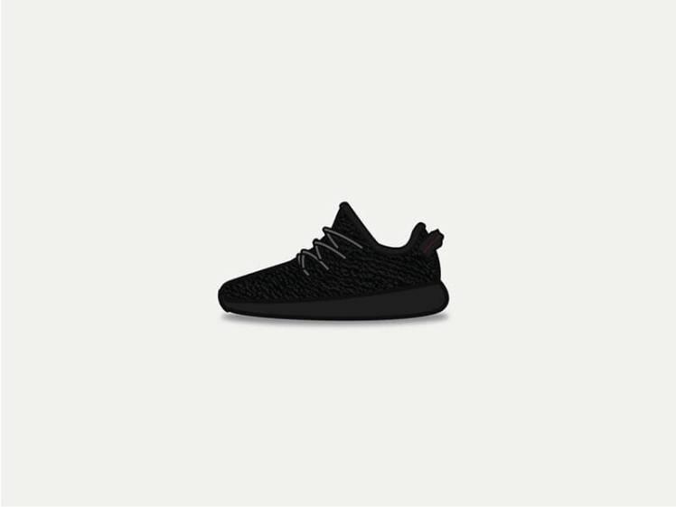 Adidas Yeezy Bost 350 Pirate Black _88
