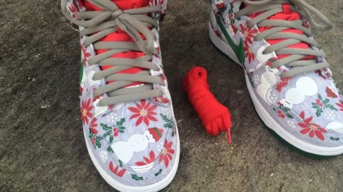 Nike SB Dunk Pro Ugly Christmas Sweater x Concepts_52