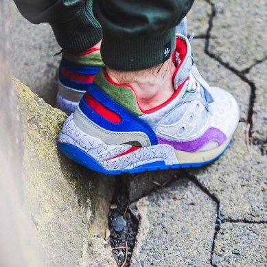 Saucony G9 Shadow 6 Pattern Recognition x Bodega_52