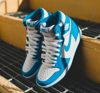 Air Jordan 1 High UNC Powder Blue_14