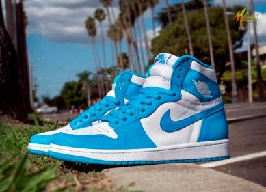 Air Jordan 1 High UNC Powder Blue_18