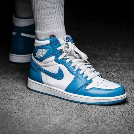 Air Jordan 1 High UNC Powder Blue_33