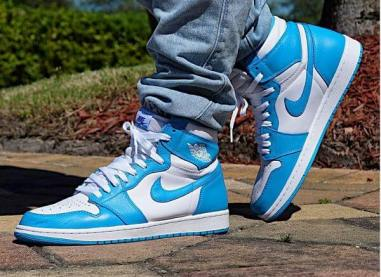 Air Jordan 1 High UNC Powder Blue_39