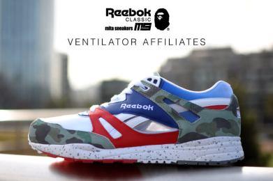 Reebok Ventilator x BAPE x Mita Sneakers_07