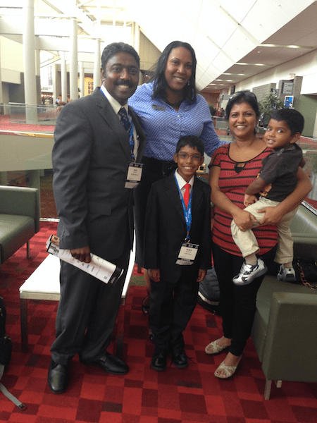 My family with Allison Barton, Certification Manager at ASIS
