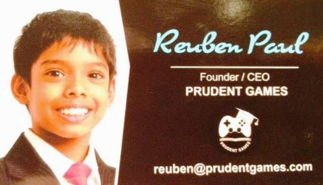 Reuben Paul - Business Card