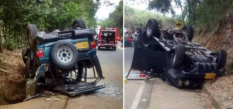 Accidente muerta Cartago