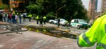 30 heridos e indignación nacional deja el atentado cerca a la plaza de toros de Bogotá