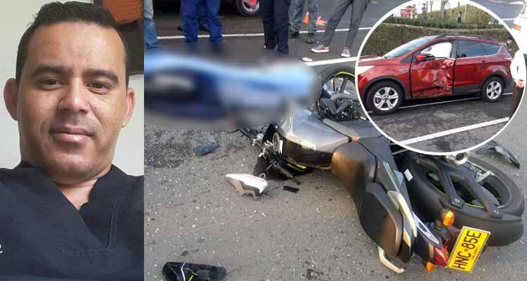 Enfermero habitante de Armenia murió accidente Pereira
