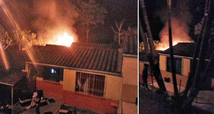 Incendio en vivienda de la Alaska en Montenegro