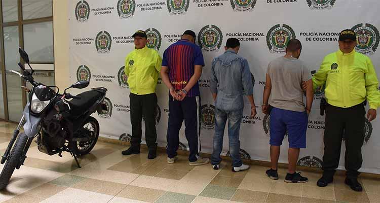 Cayó banda de atracadores que robaba en Armenia Calarcá y Circasia