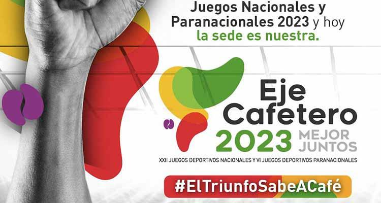 El Eje Cafetero elegido como Sede de los Juegos Nacionales 2023