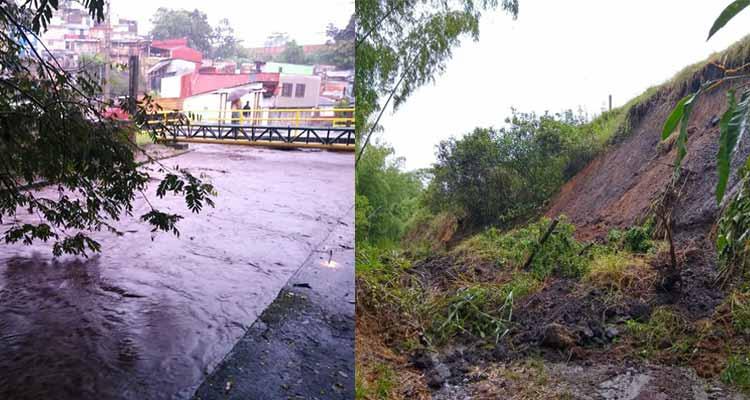 Emergencias en Montenegro y Quimbaya por las lluvias