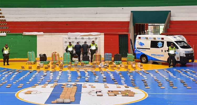 En La Tebaida cayó cargamento de marihuana transportado en una ambulancia