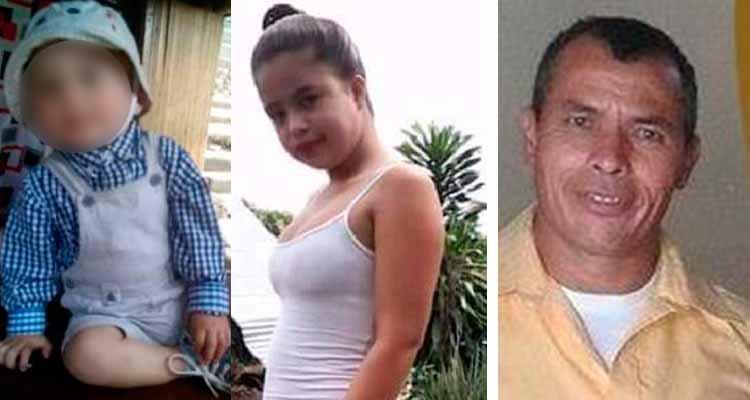 Desaparecidos mujer bebé y hombre en Montenegro
