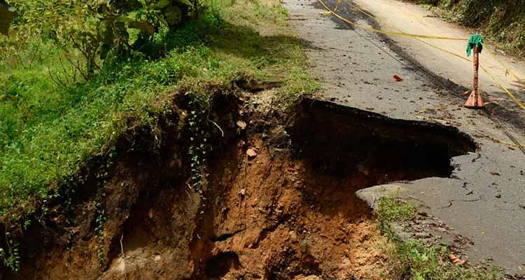 calamidad pública carreteras sur Quindío