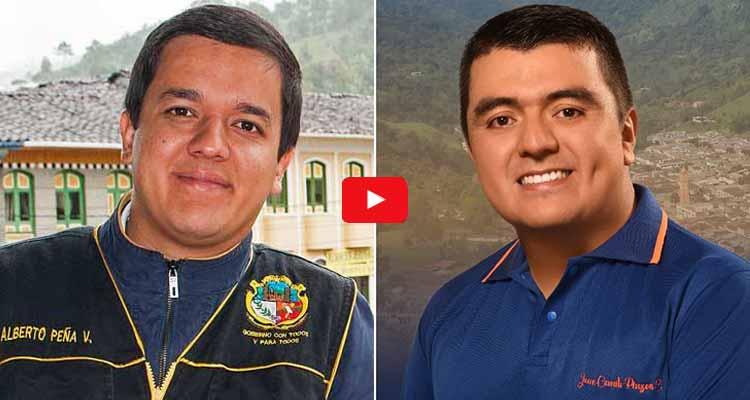 candidatos a la Alcaldía de Pijao