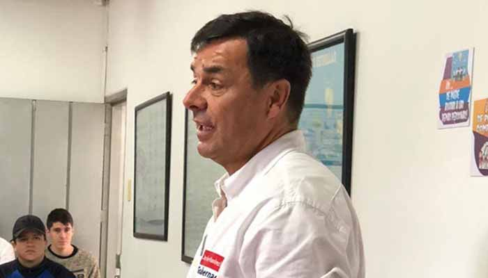 Candidato gobernación pronunció ante escándalo de audios