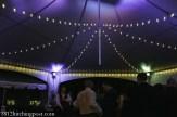 Lighting under the tent