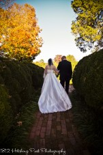 Dad walks her down the aisle