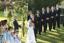 Vows from the balcony