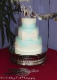 Tiffany blue cake with bow