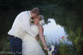A kiss by the lake