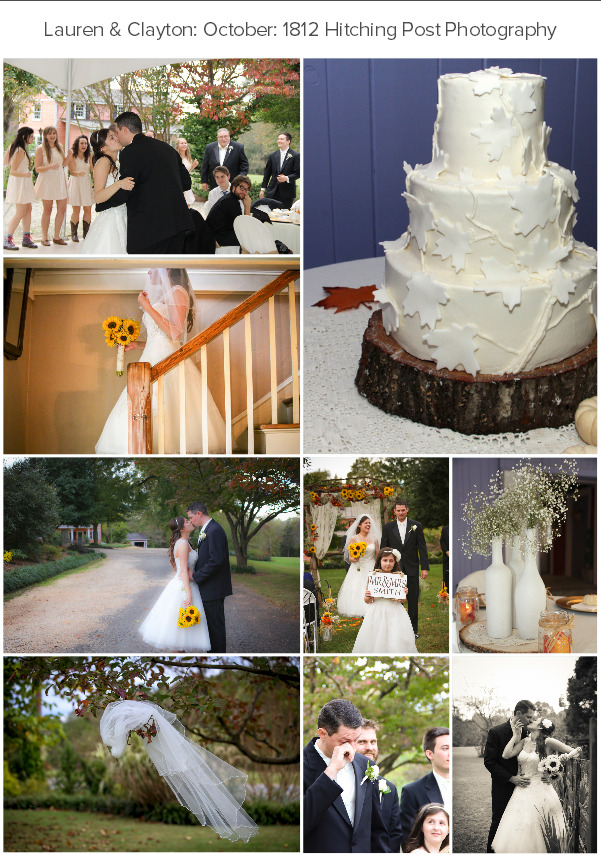 Lauren & Clayton's October Wedding