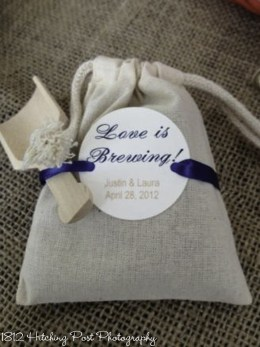 Love is Brewing Party Favor