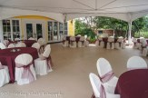 Burgundy overlays with burgundy sashes