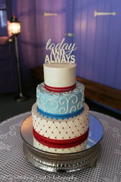 Blue and Red wedding-2