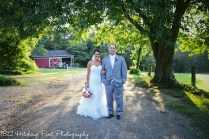 Coral Navy Outdoor Wedding-24