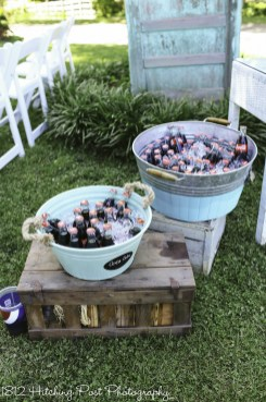 Buckets of beverages